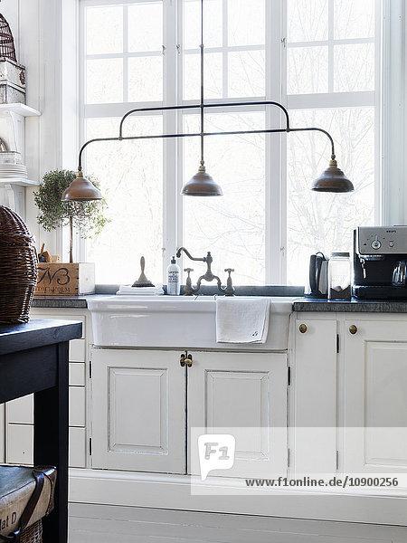 Kücheneinrichtung im Landhaus