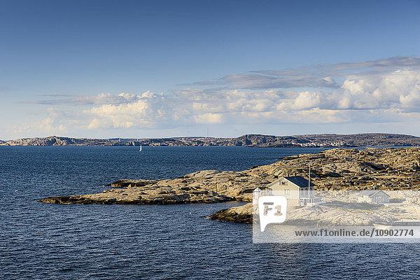 Schweden  Westküste  Bohuslan  Marstrand  Blick auf die Küste