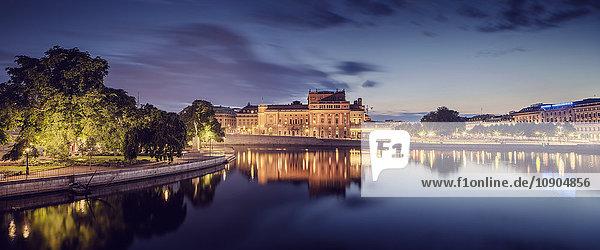 Schweden  Stockholm  Blick auf die Stadt