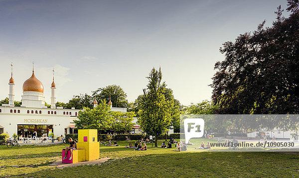 Schweden  Skane  Malmö  Malmö Folkets Park