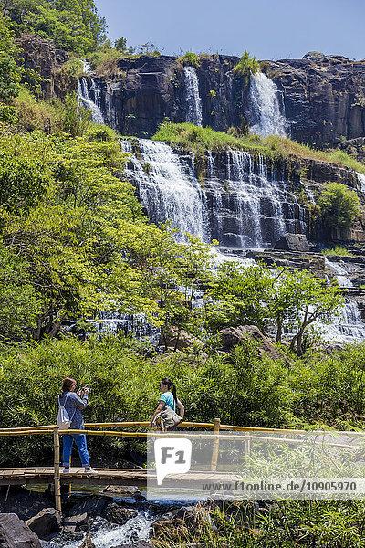 Vietnam  Da Lat  Pongur waterfall