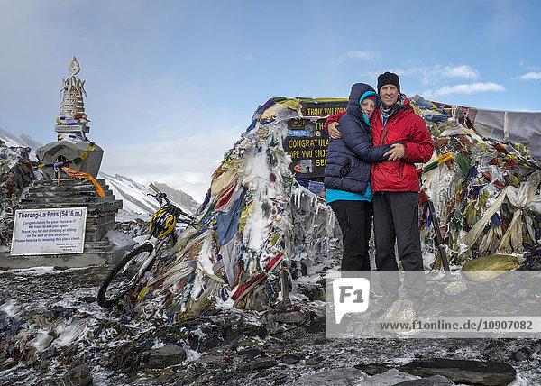 Nepal  Annapurna  Thorong La Pass  Paar