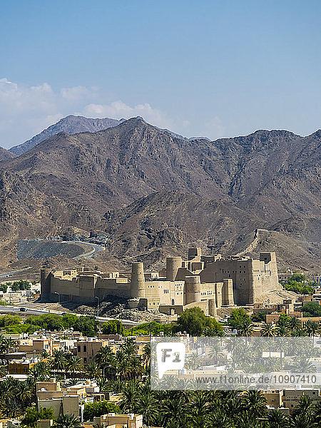 Oman  Dhakiliya  Oasis town Bahla  Fort Bahal  Al Hajar al Gharbi Mountains