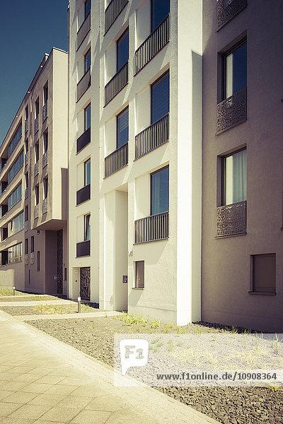 Fassaden moderner Mehrfamilienhäuser Fassaden moderner Mehrfamilienhäuser