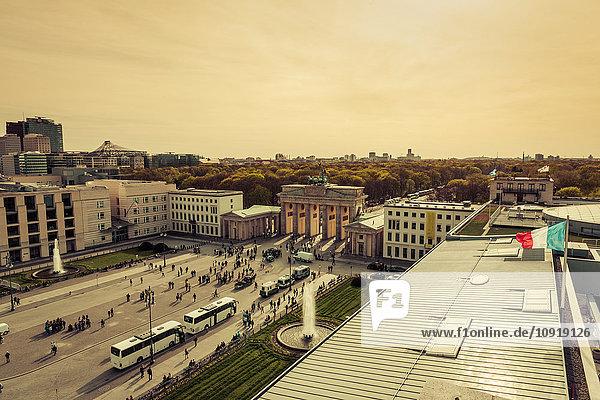 Deutschland  Berlin  Pariser Platz  Brandenburger Tor