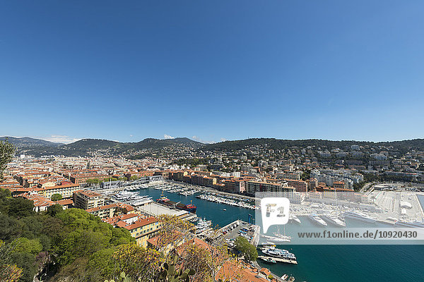 Frankreich  Provence-Alpes-Cote d'Azur  Nizza  Marina