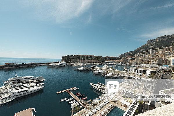 Monaco  Monte Carlo  Marina