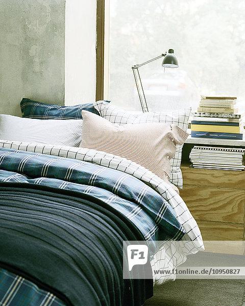 Anschnitt,Aufsicht,Bauwerk,Beleuchtung,Bett,Bettdecke
