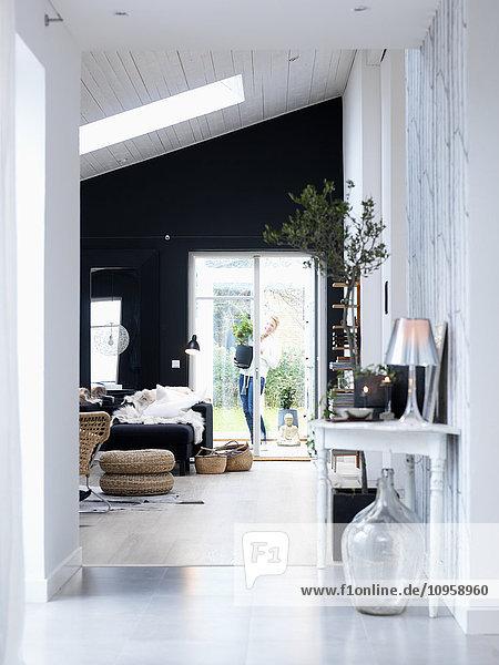 A Scandinavian interior  Sweden.