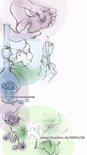 Montage alternativer Behandlungsmethoden