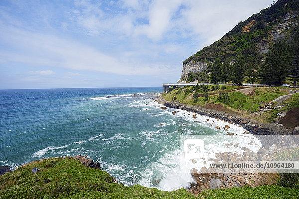 'Sea cliff bridge  on the Grand Pacific Drive; New South Wales  Australia'