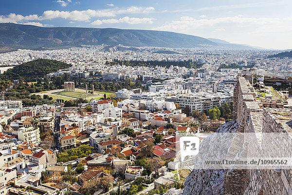 'Temple of Olympian Zeus; Athens  Greece'