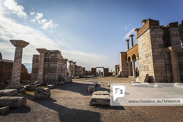 'Tomb of Saint John and Saint John's Basilica; Ephesus  Turkey'