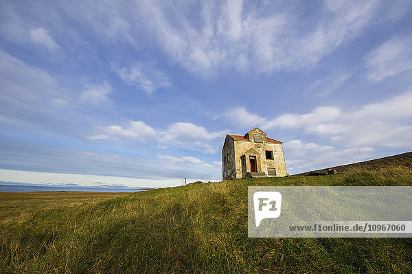 'Abandoned house in rural Iceland; Iceland'