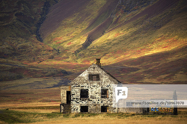 'Abandoned house in rural Iceland  Snaefellsness Peninsula; Iceland'