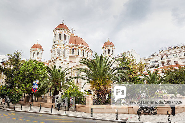 'Metropolitan Church of Saint Gregory Palamas; Thessaloniki  Greece' 'Metropolitan Church of Saint Gregory Palamas; Thessaloniki, Greece'