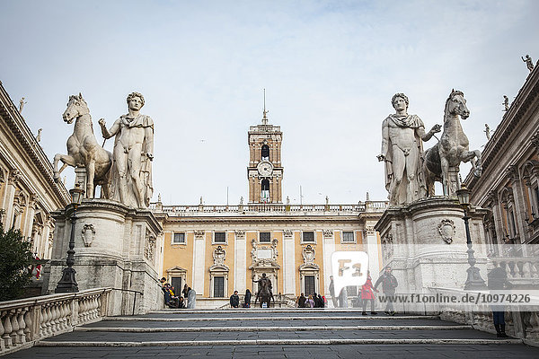 'Steps to Capitoline Hill; Rome  Italy'