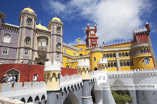 'Pena National Palace; Sintra  Portugal'