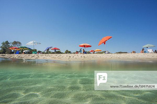 'Bari Sardo beach; Sardinia  Italy'