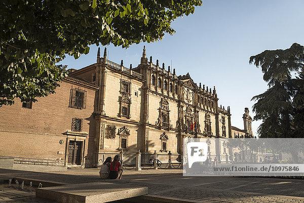 'Alcala University  in the historical and charming city near to Madrid; Alcala de Henares  Madrid  Spain'