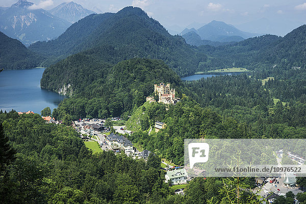 'Hohenschwangau Castle; Schwangau  Germany'