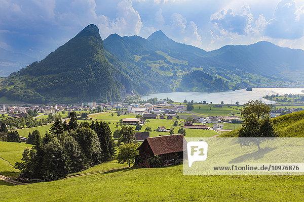 'Seewen  a village on Lake Lauerz; Schwyz Canton  Switzerland'