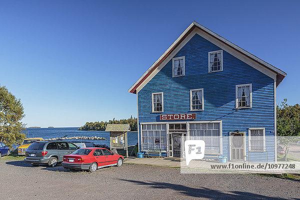 'Village general store on the Sibley Peninsula; Silver Islet  Ontario  Canada'