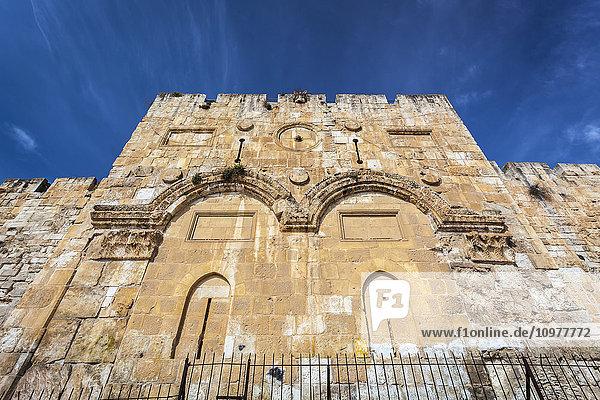 'Eastern gate  Old city Jerusalem; Jerusalem  Israel' 'Eastern gate, Old city Jerusalem; Jerusalem, Israel'