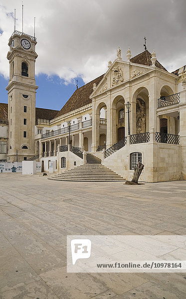 Old University Building Of Coimbra  Portugal  Europe