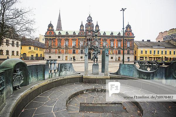 'The classic architecture of Malmo; Malmo  Sweden'