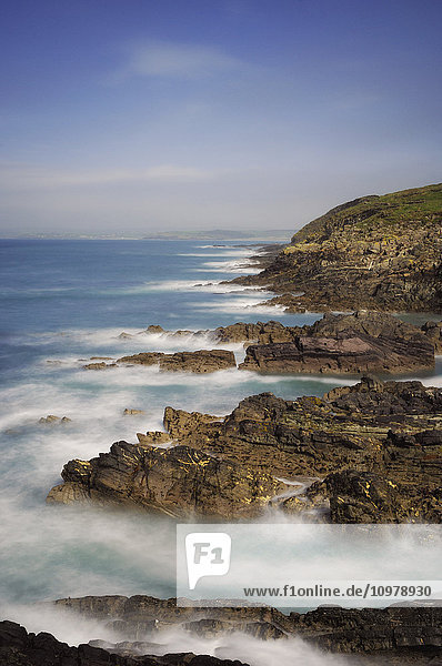 'Seascape by the Galley Head lighthouse; County Cork,  Ireland'