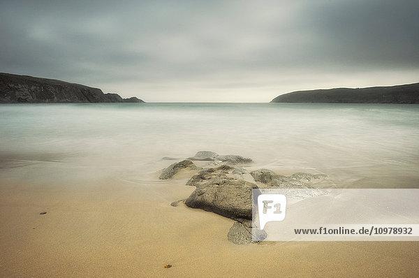 'Seascape near the Mizen Head; County Cork  Ireland'