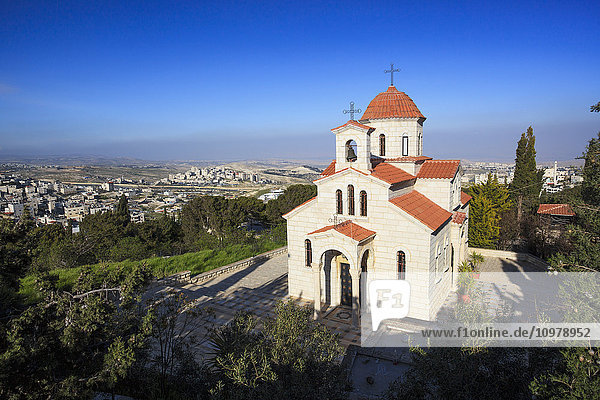 'Greek Orthodox church; Jerusalem  Israel'