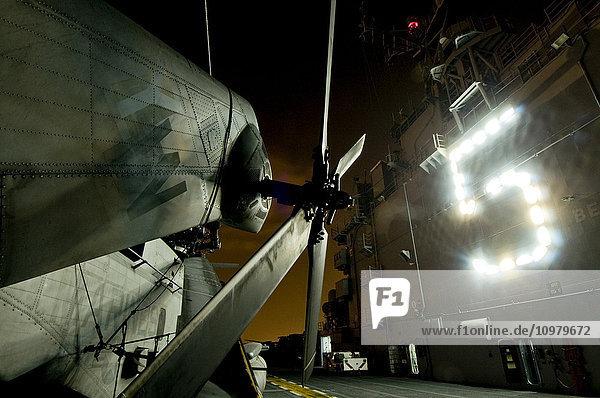 'USS Pelelieu; Hawaii  United States of America'