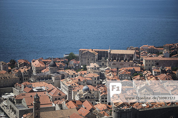Croatia  Dalmatia  Dubrovnik  historic old town