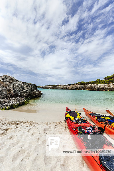 Spanien  Balearen  Menorca  Strand von Talaier