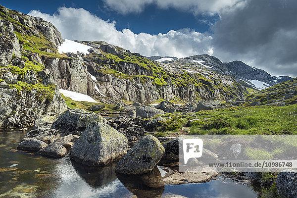 Norwegen  Forsand  Kjerag Berg