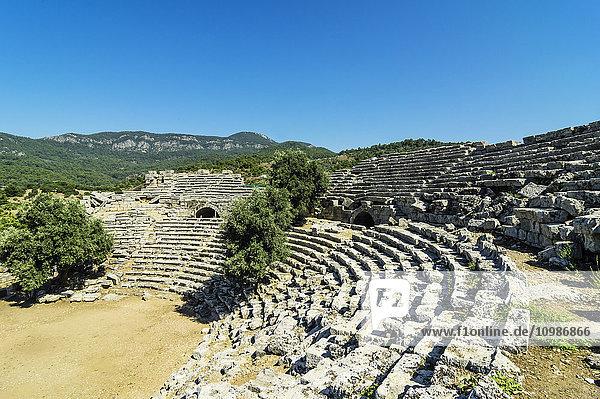 Türkei  Dalyan  Amphitheater der antiken Stadt Kaunos