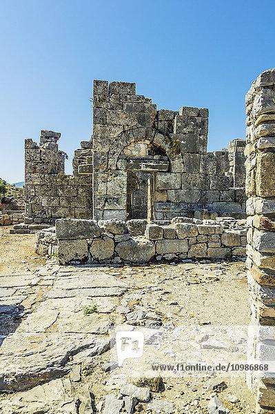 Türkei  Dalyan  Ruinen der antiken Stadt Kaunos
