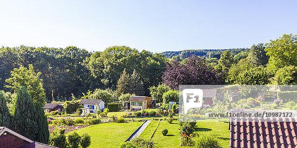 Deutschland  Esslingen  Gartenanlagen