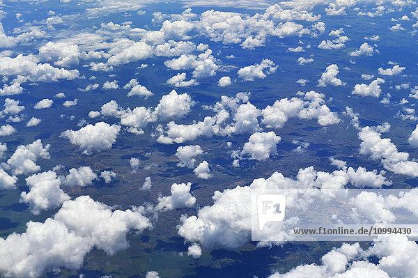 View from Flight over Queensland  Australia