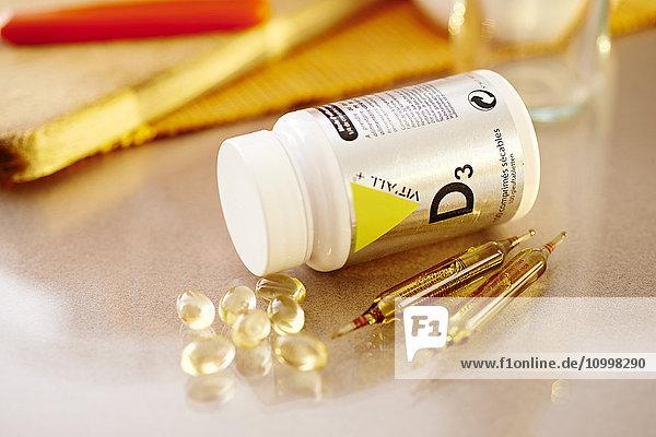 Vitamin D3 supplements (cholecalciferol).
