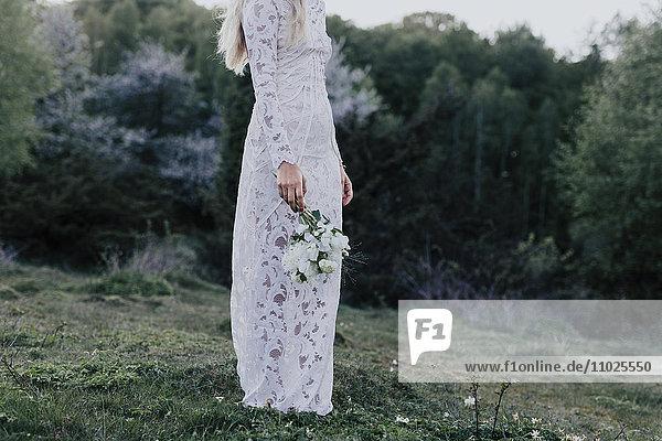 Bride with bouquet Bride with bouquet