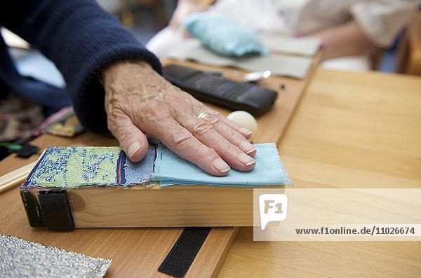 Ergotherapie im Seniorenheim