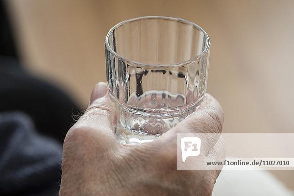 Trinken gegen Exsikkose im Seniorenheim