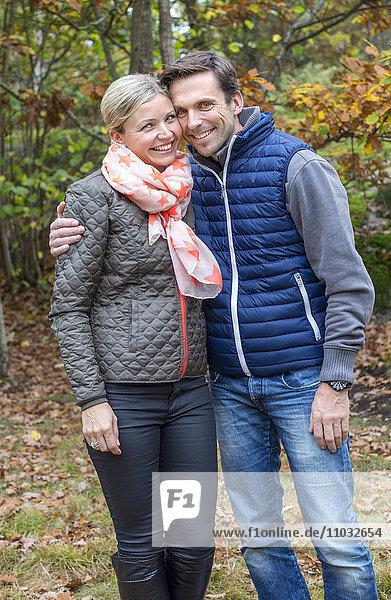 Couple together  Karlskrona  Blekinge  Sweden