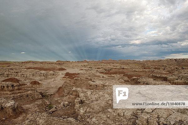 Badlands Nationalpark  South Dakota  USA