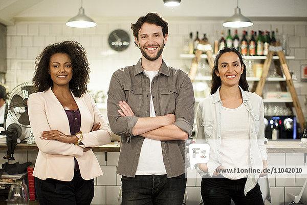 Restaurant-Geschäftspartner  Portrait