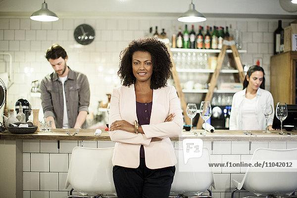 Restaurantbesitzer  Portrait