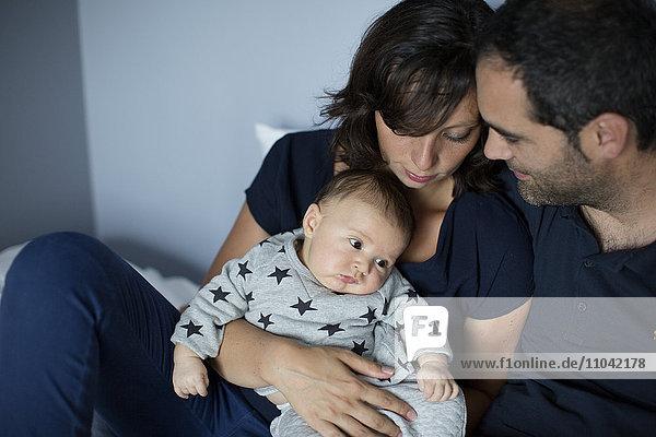 Eltern mit Jungen